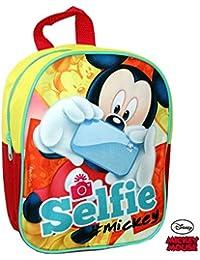 Preisvergleich für Disney Mickey mouse- kleiner Rucksack 24 cm - ideal für Kinder im Kindergarten - tolle Geschenkidee