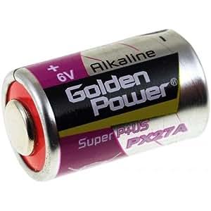 Batterie golden Power PX27A Alkaline Photo, 6V, Alkaline [ Piles spéciales ]