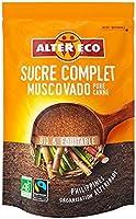Alter Eco Sucre Complet Muscovado Bio et Equitable 500 g - Lot de 4