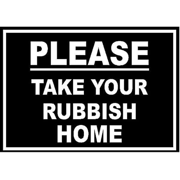 Plastic Bags Recycling Sign 150mm x 200mm Self-Adhesive REL-21W