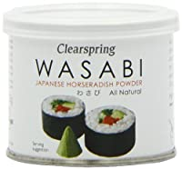 Clearspring Wasabi Japanese Horseradish Powder 25 G