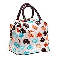 Yistu Lunch Bag,Thermal Picnic Cool Bag Cooler Box Handbag (22cm*21cm*16cm, 4)