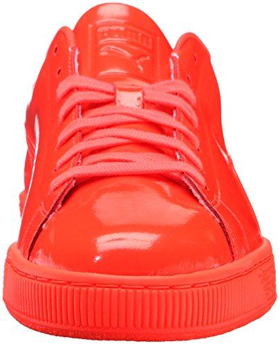 Puma Basket Classic Cuir verni Baskets Red Blast