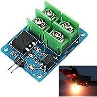 Generic 3V 5V bajo control de alto voltaje 12V 24V 36V MOS módulo de transistor de efecto de campo módulo de interruptor electrónico