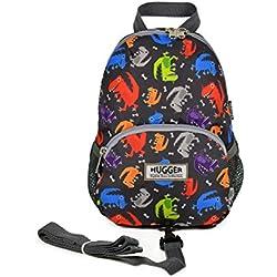 Hugger dinosaurios niños de mochila con arnés–1–4años