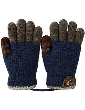 Vbiger Kinder Winter Handschuhe Warm Stretchy Gestrickte Bequeme Handschuhe Fäustlinge Soft Magic Handschuh Kälte...