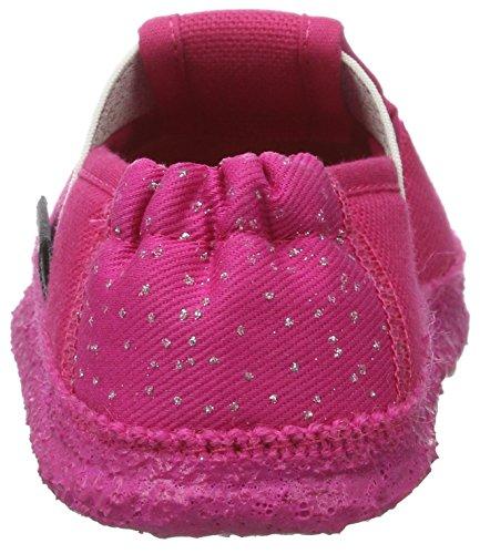 Nanga Glitzer, chaussons d'intérieur fille Pink (himbeere)