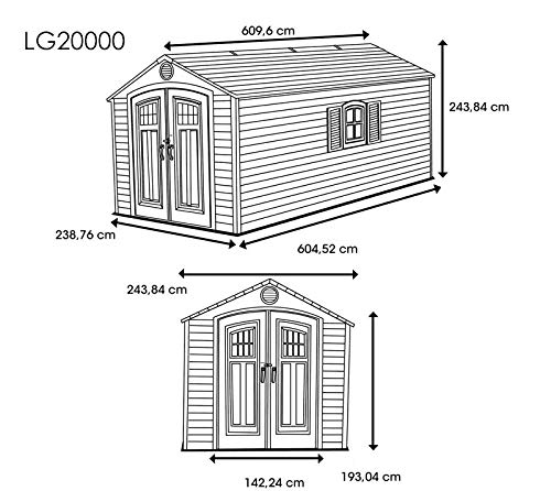 Gartenhaus Giant - 8