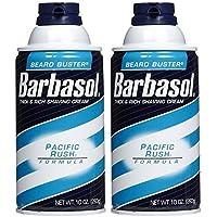 Barbasol Shave Cream, Pacific Rush - 10 oz - 2 pk by Barbasol preisvergleich bei billige-tabletten.eu