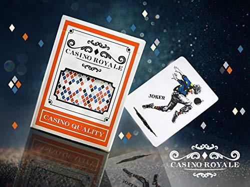 NAL CO. Kartenspiel Spielkarten Poker Karten Casino Royale Refined Edition Playing Cards Rare Limited Professional Plastic Waterproof Tearproof ()