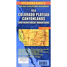 Carte routière : USA, Colorado Plateau, Canyonlands, Südliche Rocky Mountains