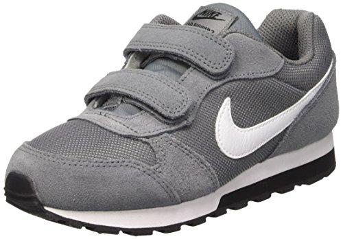 Nike Jungen MD Runner 2 (PSV) Laufschuhe, Grau (Cool Grey/White/Black 002), 32 EU