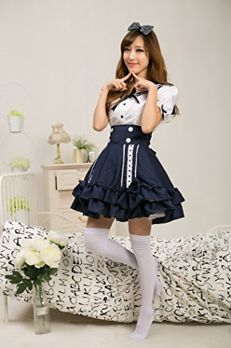 462d15876b4a Ch Ch Japanese navy sailor cosplay lolita princess dress waist strap dress  strap student clothing uniforms