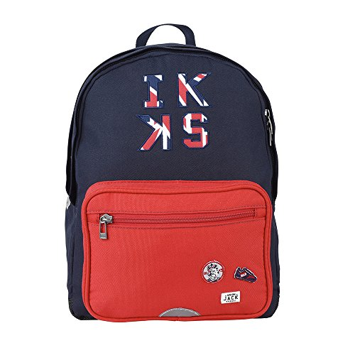 Sac a dos L Rouge IKKS Union Jack Russel