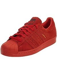 online store 0d70a 8aec9 adidasB32664 - Superstar 80s City Series London Scarpe da Uomo, Rosso Uomo