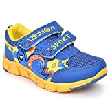Action Shoes Dotcom Kids Sports Shoes Ks-563-Blue-Yellow