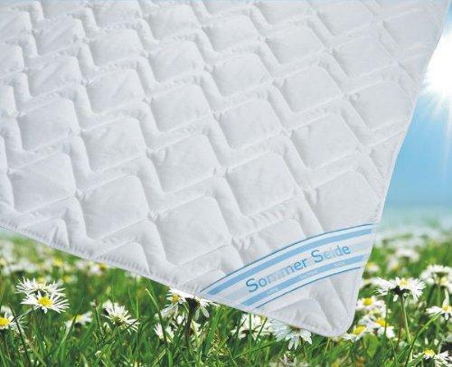 Sommerdecke Bettdecke Wildseide-Baumwolle 155x220 leicht, Füllung 60% Seide und 40% Baumwolle thumbnail