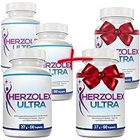 Herzolex Ultra - 3 Flaschen + 2 gratis dazu