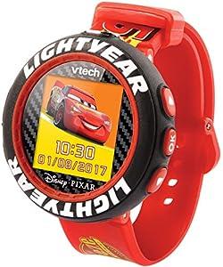 VTech Bliksem Mcqueen CAM-Watch - Electrónica para niños (Kids smartwatch, Negro, Rojo, De plástico, CE, 4 año(s), Niño/niña)