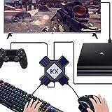 Tastatur und Maus KX Game Converter Maustaste auf Tastatur für PS3 PS4 Xbox One Switch Apex Hero, Schwarz, 2019 Neu,Black