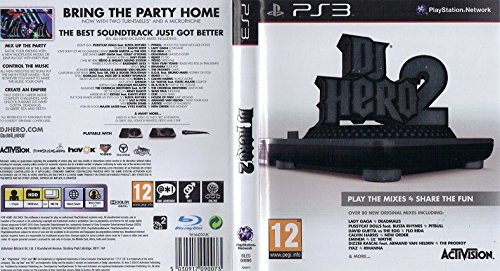 Activision DJ Hero 2, PS3 - Juego (PS3, PlayStation 3, Música, T (Teen))