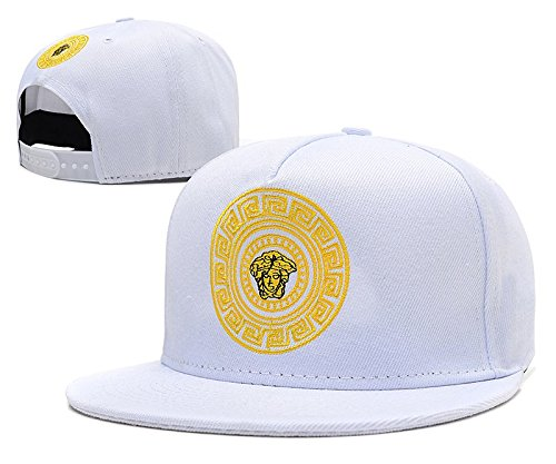 Shoekurla-HD Unisex Adjustable Fashion Leisure Baseball Hat VERSACE Snapback Dual Colour Cap