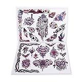 Schmetterling Blumen Flügel Engel Tattoo Design Nachschlagewerk Skizze Bild Anleitung A4-Format 80 Seiten