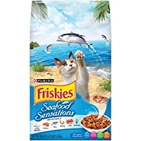 Purina Friskies 1.42 Kg Seafood Sensations Cat Dry Food
