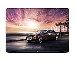 LOISTER Rolls Royce Ghost Laptop skin for 13.3 inches Laptop
