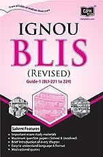 B.LIB. GUIDE (BLI-221 to 224) (IGNOU Help Guide for B.LIB.Guide in English Medium)