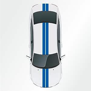 adesivi strisce Viper Kiwistar 2 pezzi 15 x 400 cm strisce da corsa Rally