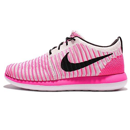 Nike Damen Roshe Two Flyknit (GS) Laufschuhe, Rosa (Pearl Pink / Black-Pink...