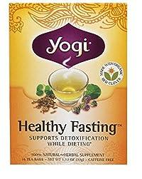 Yogi Tea,16 Tea Bags (Healty Fasting, 1 Pack)