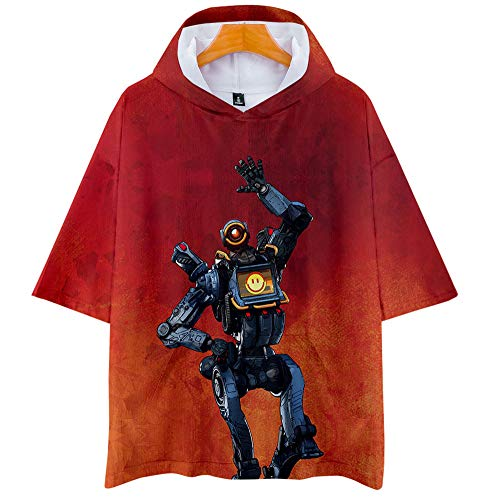 ZGDGG Camiseta Unisex Apex Legends Big Escape Game Sudaderas con Capucha Sudaderas para niños y niñas,D,XXXL