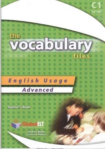 The Vocabulary Files C1 - Teacher's Book