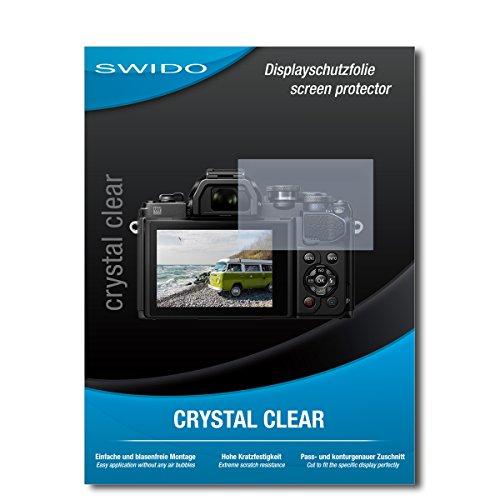 Galleria fotografica 3 x SWIDO® Pellicola Protettiva Olympus OM-D E-M10 Mark III Screen Protector Pellicola Protettiva Film CrystalClear invisibile