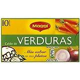 MAGGI Caldo de Verduras en Pastillas - Caldo Deshidratado - 10 pastillas
