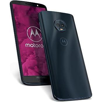 Motorola Moto G6 Smartphone da 64 GB, Dual SIM, Deep Indigo [Italia]