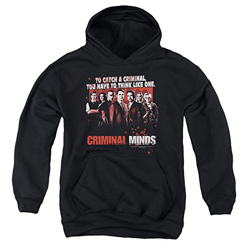 2Bhip Criminal Minds TV Show CBS Think Like One Big Boys Youth Pull-Over Hoodie