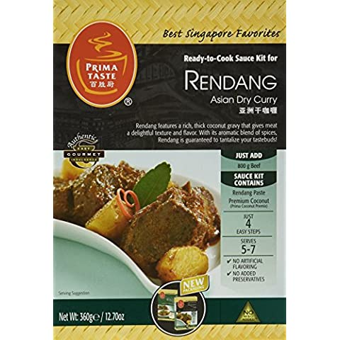 Prima Gusto Kit salsa Rendang Curry, scatole