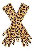 krautwear Damen Handschuhe mit Gepard Tier Fell Muster (PX-12166)