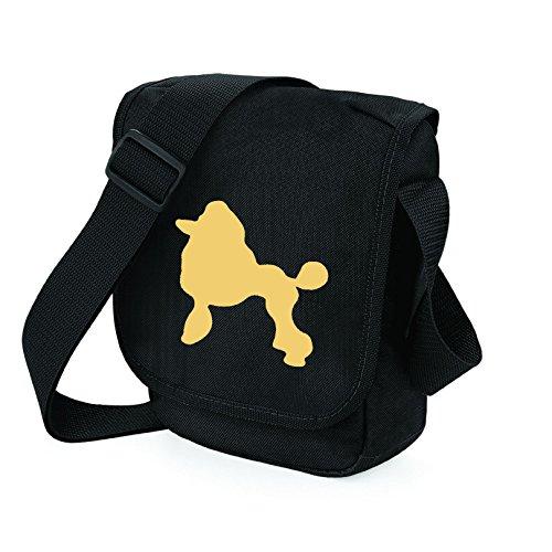 Bag Pixie - Borsa a tracolla unisex adulti Cream Dog Black Bag
