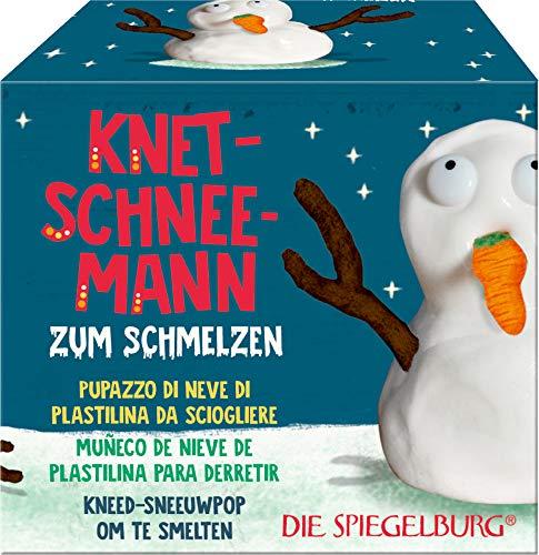 Die Spiegelburg Season´s Greetings Knet-Schneemann Knete Geschenk Weihnachten