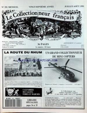 COLLECTIONNEUR FRANCAIS [No 291] du 01/0...