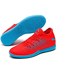 174ca8f56789 Puma Men s Future 19.4 IT Red Blast-Bleu Azur Football Boots-9  (4060978782380
