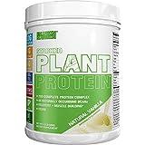 Pflanzliches Proteinpulver   natürliche Vanille   vegan, ohne Gentechnik, glutenfrei   Probiotika, BCAAs, Ballaststoffe, Sauerkirsche   vollständig pflanzlicher Proteinkomplex   680g Behälter