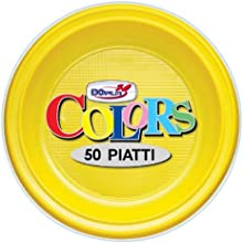 Platos postre X 50amarillas