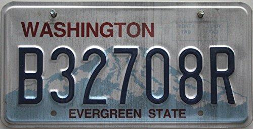 USA Nummernschild WASHINGTON ~ US Kennzeichen nummerplaat kenteken ~ Blechschild