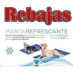 Cama refrescante para perros beeztess 95 x75 cm