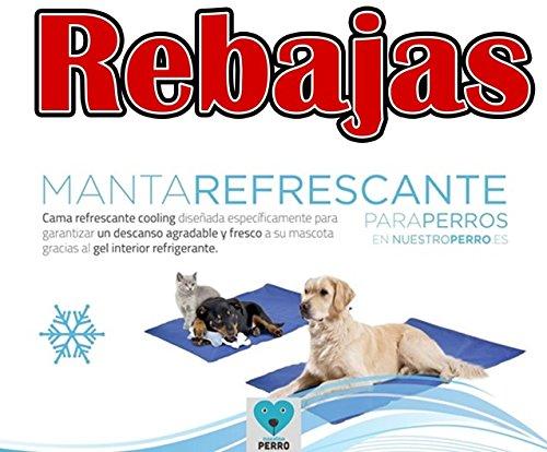 Cama refrescante para perros beeztess 90x50cm